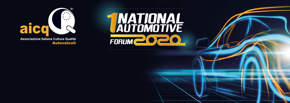 📌SAVE THE DATE📌 1° NATIONAL AUTOMOTIVE FORUM 2020